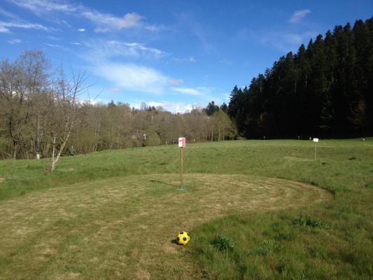 Foot golf trou 1