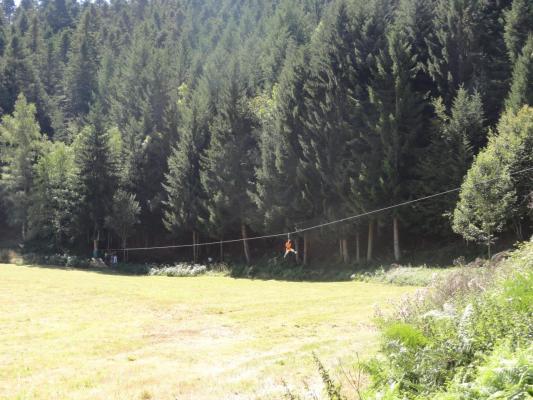 TYROLIENNE DE 150M